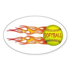 Side fire soft Oval Decal