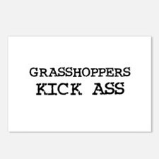 Grasshoppers Kick Ass Postcards (Package of 8)