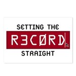 Setting The Record Straight Postcards (Package of