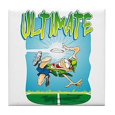 Ultimate Frisbee Tile Coaster