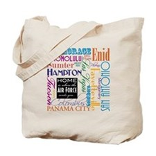 Home Is... Air Force Tote Bag