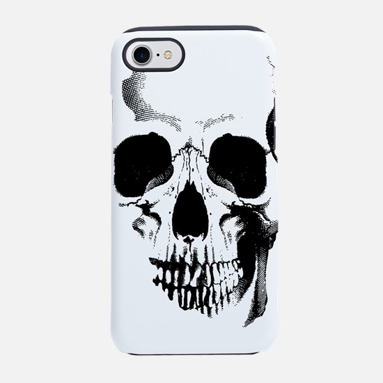 skull-face_bl.png iPhone 7 Tough Case