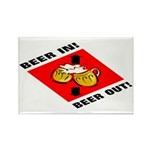 Beer Rectangle Magnet (100 pack)