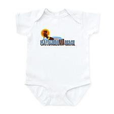 Playalinda Beach FL Infant Bodysuit