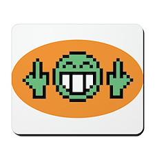 Flipoff guy Mousepad