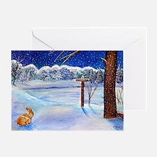 Winter Wonderland 2 Greeting Cards
