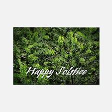 Evergreen Solstice Rectangle Magnet (100 pack)