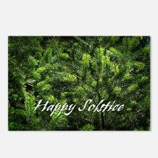 Evergreen Solstice Postcards (Package of 8)
