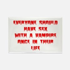 Everyone Should Have Sex With A Vampire Rectangle