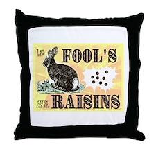 Cute Funny poop Throw Pillow