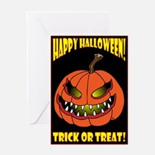 TRICK OR TREAT GREETING CARDS Greeting Card