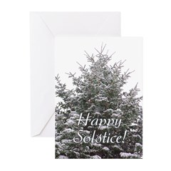 Solstice Evergreen Greeting Cards (Pk of 20)