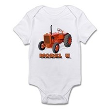 Cute Tractor pulling Infant Bodysuit