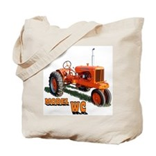 Funny Tractor pull Tote Bag