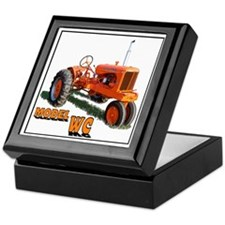 Cool Chalmers grandpa agriculture Keepsake Box