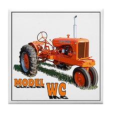 Farm art Tile Coaster