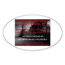 Old South Pittsburg Hospital Oval Decal