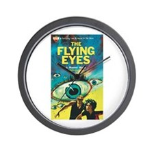 "Wall Clock - ""The Flying Eyes"""