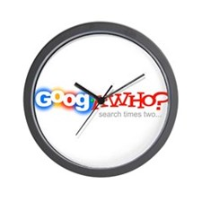 GoogaWho? Wall Clock