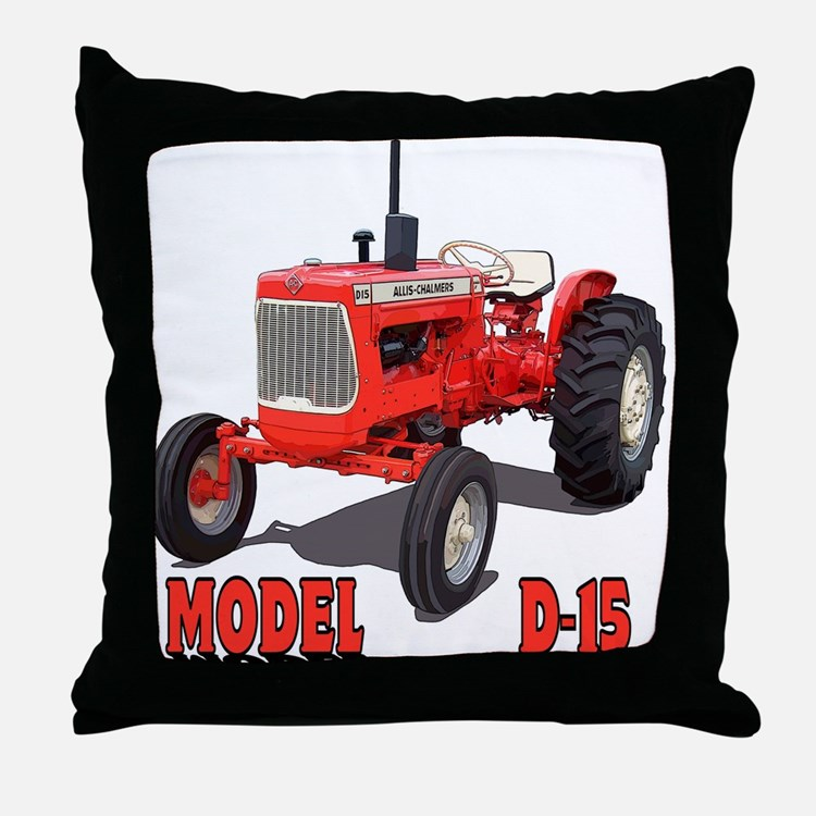 Cute Chalmers grandpa agriculture Throw Pillow