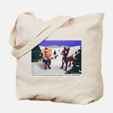 Funny Twisted Tote Bag
