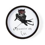 Phantom Cat Wall Clock