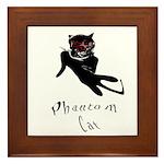 Phantom Cat Framed Tile