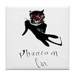 Phantom Cat Tile Coaster
