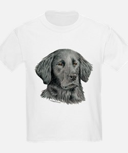 Flat-Coated Retriever Kids T-Shirt