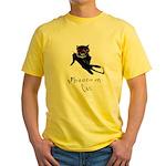Phantom Cat Yellow T-Shirt