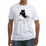 Phantom Cat Fitted T-Shirt