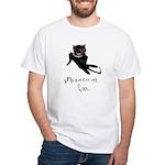 Phantom Cat White T-Shirt