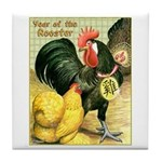 Year Of The Rooster2 Tile Coaster
