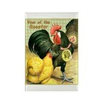 Year Of The Rooster2 Rectangle Magnet