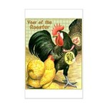 Year Of The Rooster2 Mini Poster Print