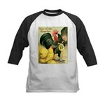 Year Of The Rooster2 Kids Baseball Jersey