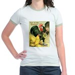 Year Of The Rooster2 Jr. Ringer T-Shirt