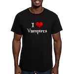 Twilight New Moon Men's Fitted T-Shirt (dark)