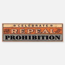 Bumper Sticker Celebrate the Repeal of Prohibition