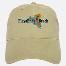 Playalinda Beach FL Baseball Baseball Cap
