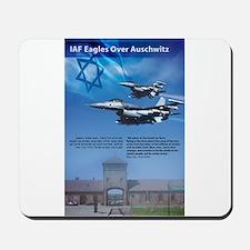IAF Eagles Over Auschwitz Mousepad
