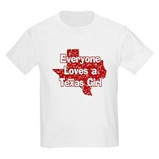Texas Girl Kids T-Shirt