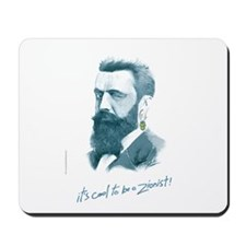 'Herzl - Cool Zionist' Mousepad