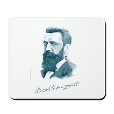 'Herzl - Cool Zionist' Mousepad