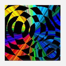 Muticolored Tile Coaster