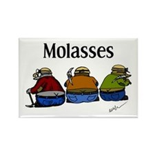 Molasses Rectangle Magnet