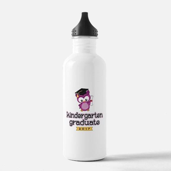 Kindergarten Grad 2017 Sports Water Bottle