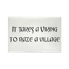 It Takes a Viking Rectangle Magnet