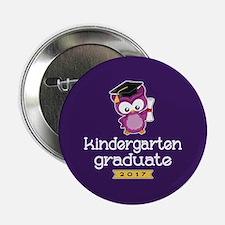 """Kindergarten Grad 2017 2.25"""" Button"""