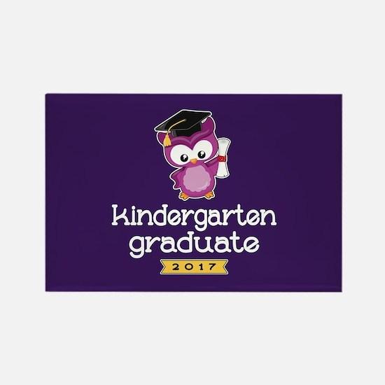 Kindergarten Grad 2017 Rectangle Magnet